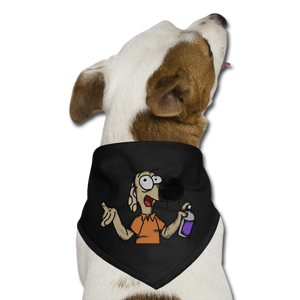 Grafiti Rantdog - Dog Bandana - black