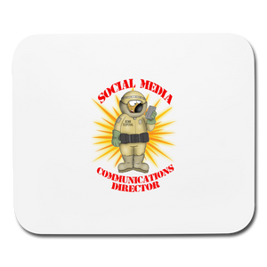 Toxic Social Media - Mouse pad Horizontal - white