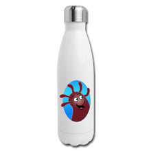 Load image into Gallery viewer, It's Not About Larry Mumba - Insulated Stainless Steel Water Bottle - white