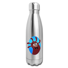Load image into Gallery viewer, It's Not About Larry Mumba - Insulated Stainless Steel Water Bottle - silver