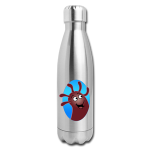 It's Not About Larry Mumba - Insulated Stainless Steel Water Bottle - silver