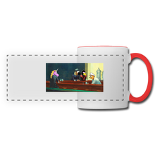 Load image into Gallery viewer, Panoramic Mug - white/red