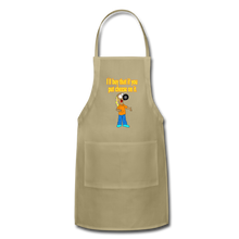 Load image into Gallery viewer, Rantdog Put Cheese On It - Adjustable Apron - khaki