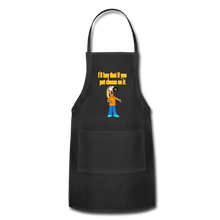 Load image into Gallery viewer, Rantdog Put Cheese On It - Adjustable Apron - black