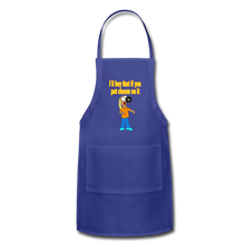 Load image into Gallery viewer, Rantdog Put Cheese On It - Adjustable Apron - royal blue