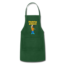 Load image into Gallery viewer, Rantdog Put Cheese On It - Adjustable Apron - forest green
