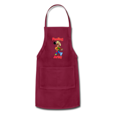 Load image into Gallery viewer, Rantdog Feeling Artsy - Adjustable Apron - burgundy