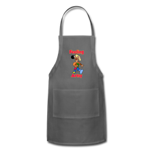 Load image into Gallery viewer, Rantdog Feeling Artsy - Adjustable Apron - charcoal