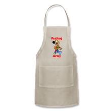Load image into Gallery viewer, Rantdog Feeling Artsy - Adjustable Apron - natural