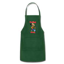 Load image into Gallery viewer, Rantdog Feeling Artsy - Adjustable Apron - forest green