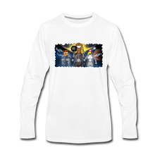 Load image into Gallery viewer, Rantdog Space - Men's Premium Long Sleeve T-Shirt - white