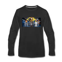 Load image into Gallery viewer, Rantdog Space - Men's Premium Long Sleeve T-Shirt - black