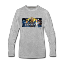 Load image into Gallery viewer, Rantdog Space - Men's Premium Long Sleeve T-Shirt - heather gray