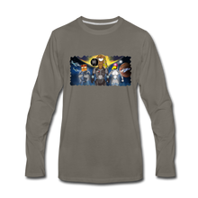 Load image into Gallery viewer, Rantdog Space - Men's Premium Long Sleeve T-Shirt - asphalt gray