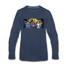 Load image into Gallery viewer, Rantdog Space - Men's Premium Long Sleeve T-Shirt - navy