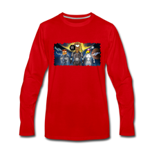 Load image into Gallery viewer, Rantdog Space - Men's Premium Long Sleeve T-Shirt - red