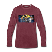 Load image into Gallery viewer, Rantdog Space - Men's Premium Long Sleeve T-Shirt - heather burgundy