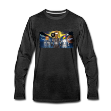 Load image into Gallery viewer, Rantdog Space - Men's Premium Long Sleeve T-Shirt - charcoal gray