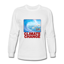 Load image into Gallery viewer, Climate Change - Men's Long Sleeve T-Shirt - white