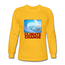 Load image into Gallery viewer, Climate Change - Men's Long Sleeve T-Shirt - gold