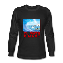 Load image into Gallery viewer, Climate Change - Men's Long Sleeve T-Shirt - black