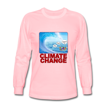 Load image into Gallery viewer, Climate Change - Men's Long Sleeve T-Shirt - pink