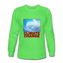 Load image into Gallery viewer, Climate Change - Men's Long Sleeve T-Shirt - kiwi