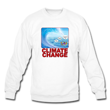 Load image into Gallery viewer, Climate Change - Crewneck Sweatshirt - white