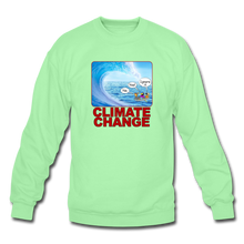 Load image into Gallery viewer, Climate Change - Crewneck Sweatshirt - lime