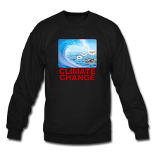 Load image into Gallery viewer, Climate Change - Crewneck Sweatshirt - black