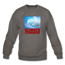Load image into Gallery viewer, Climate Change - Crewneck Sweatshirt - asphalt gray