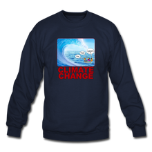 Load image into Gallery viewer, Climate Change - Crewneck Sweatshirt - navy