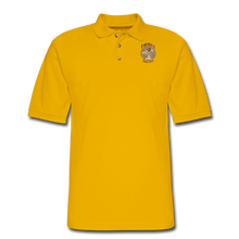 Load image into Gallery viewer, Retro Rantdog Since 1909 - RanMen's Pique Polo Shirt - Yellow