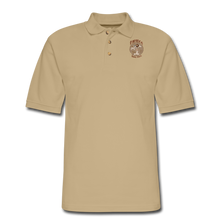 Load image into Gallery viewer, Retro Rantdog Since 1909 - RanMen's Pique Polo Shirt - beige