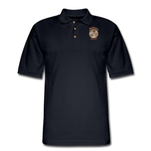 Load image into Gallery viewer, Retro Rantdog Since 1909 - RanMen's Pique Polo Shirt - midnight navy