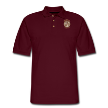 Load image into Gallery viewer, Retro Rantdog Since 1909 - RanMen's Pique Polo Shirt - burgundy