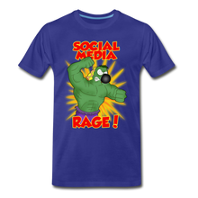 Load image into Gallery viewer, Social Media Rage - Men's Premium T-Shirt - royal blue