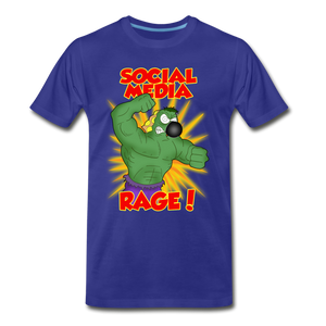 Social Media Rage - Men's Premium T-Shirt - royal blue