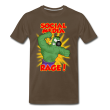 Load image into Gallery viewer, Social Media Rage - Men's Premium T-Shirt - noble brown