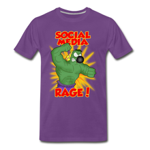 Load image into Gallery viewer, Social Media Rage - Men's Premium T-Shirt - purple