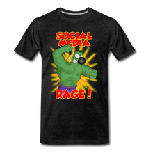 Load image into Gallery viewer, Social Media Rage - Men's Premium T-Shirt - charcoal gray