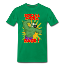 Load image into Gallery viewer, Social Media Rage - Men's Premium T-Shirt - kelly green