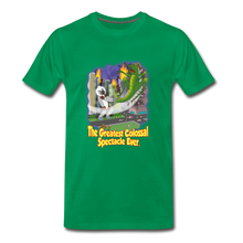 Load image into Gallery viewer, King Cotton Top Let's Fly - Men's Premium T-Shirt - kelly green