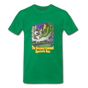 King Cotton Top Let's Fly - Men's Premium T-Shirt - kelly green