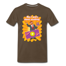 Load image into Gallery viewer, Positive Patch Don't Worry - Men's Premium T-Shirt - noble brown