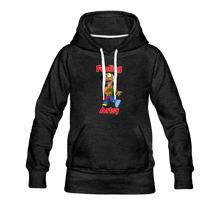 Load image into Gallery viewer, Rantdog Feeling Artsy - Women's Premium Hoodie - charcoal gray