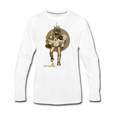 Load image into Gallery viewer, Rantdog & Robot - Men's Premium Long Sleeve T-Shirt - white