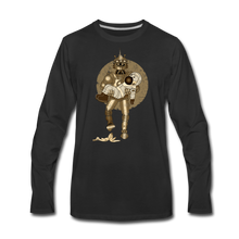 Load image into Gallery viewer, Rantdog & Robot - Men's Premium Long Sleeve T-Shirt - black