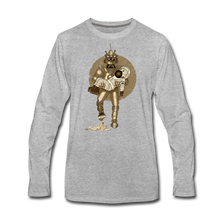 Load image into Gallery viewer, Rantdog & Robot - Men's Premium Long Sleeve T-Shirt - heather gray
