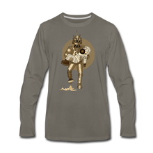 Load image into Gallery viewer, Rantdog & Robot - Men's Premium Long Sleeve T-Shirt - asphalt gray